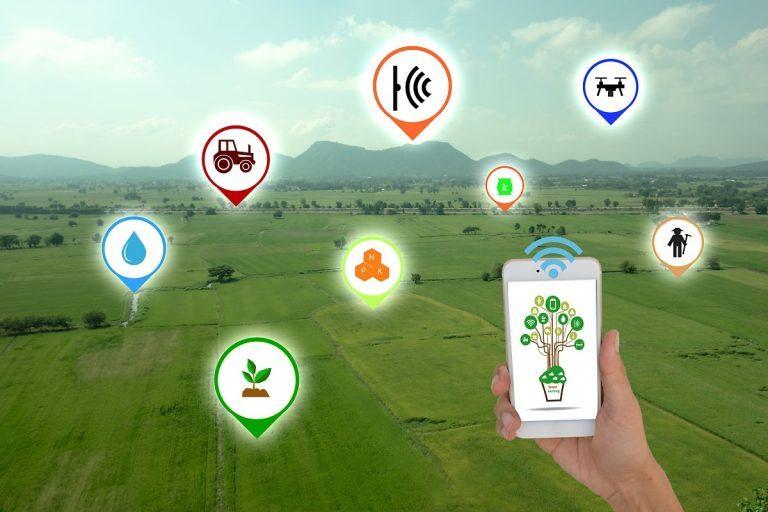 akıllı tarım uygulamaları, tarımsal sulama çözümleri, kablosuz tarım