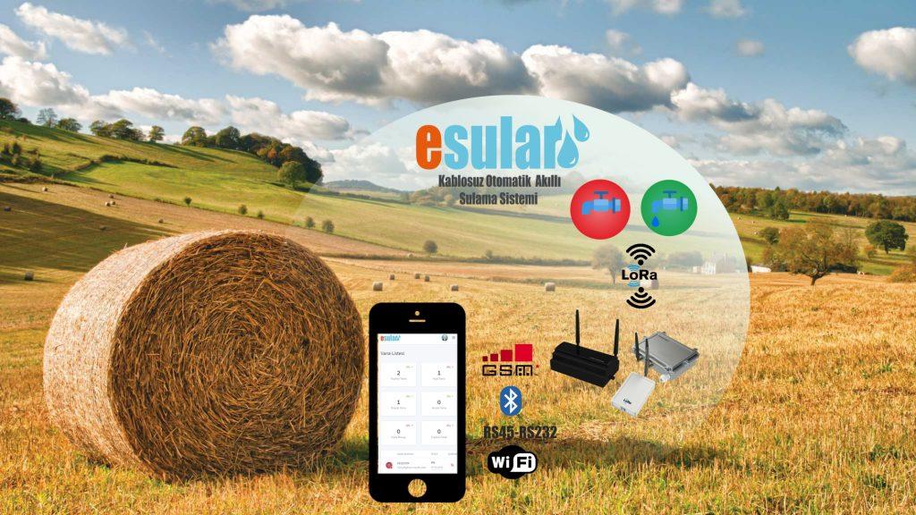 Akıllı tarımsal sulama sistemi