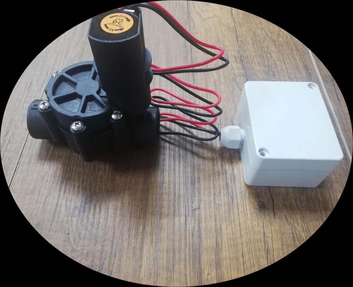 Kablosuz vana, Kablosuz hidrolik sulama sistemi vana kontrol ünitesi
