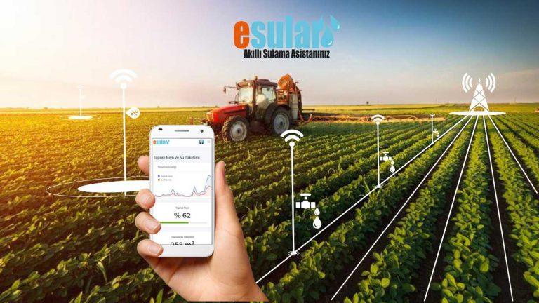 esular, Akıllı tarımsal sulama sistemi
