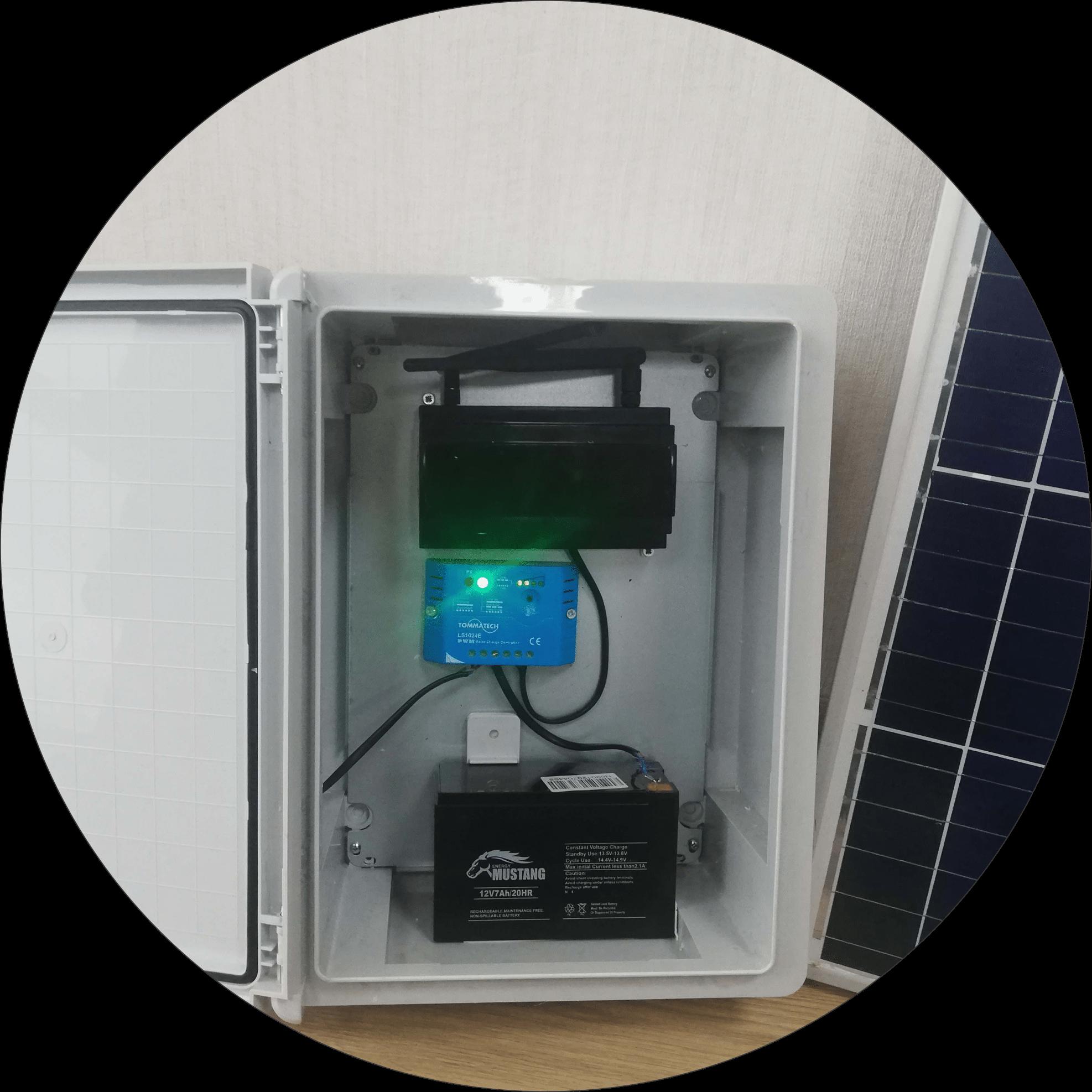 Kablosuz sulama sistemi kontrol ünitesi