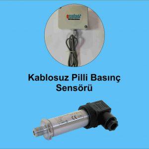 Kablosuz Pilli Basınç Sensörü