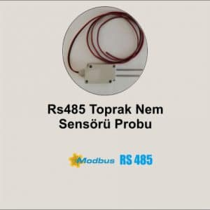 RS485 Toprak Nem Sensörü