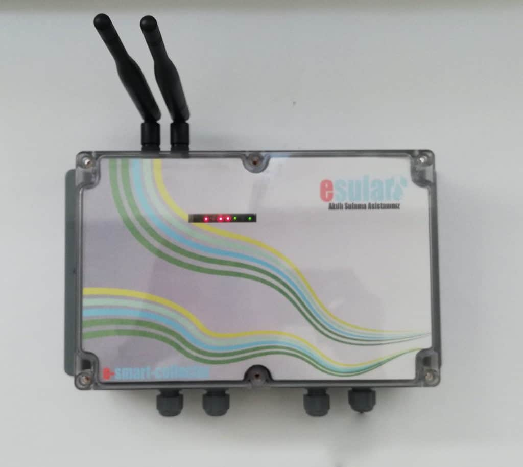 Kablosuz veri toplama ve kontrol ünitesi